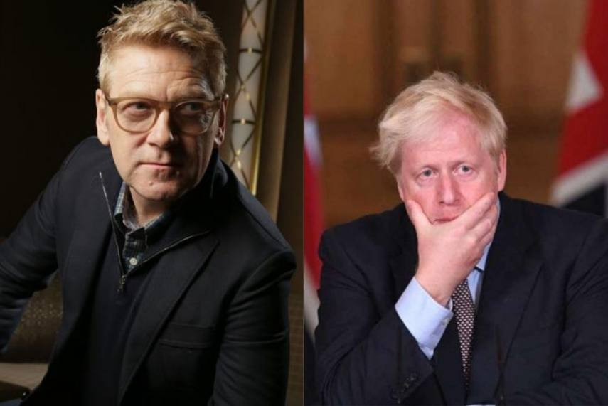 BORIS JOHNSON SZEREPÉBEN: KENNETH BRANAGH